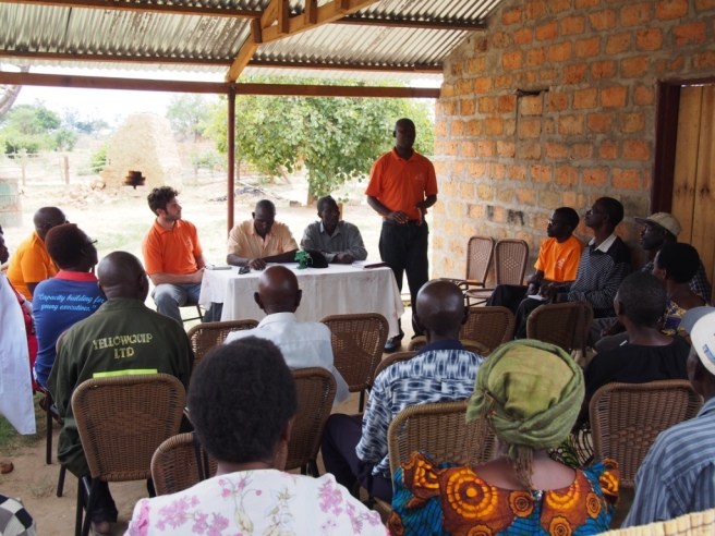 07 Field Meeting with Dairy Coop Partners in the Copperbelt